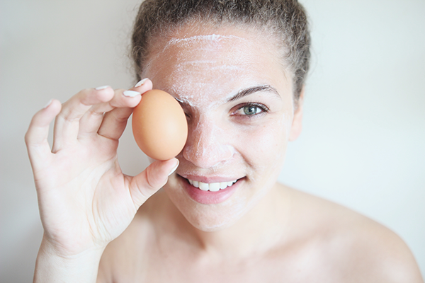 yumurta ile maske